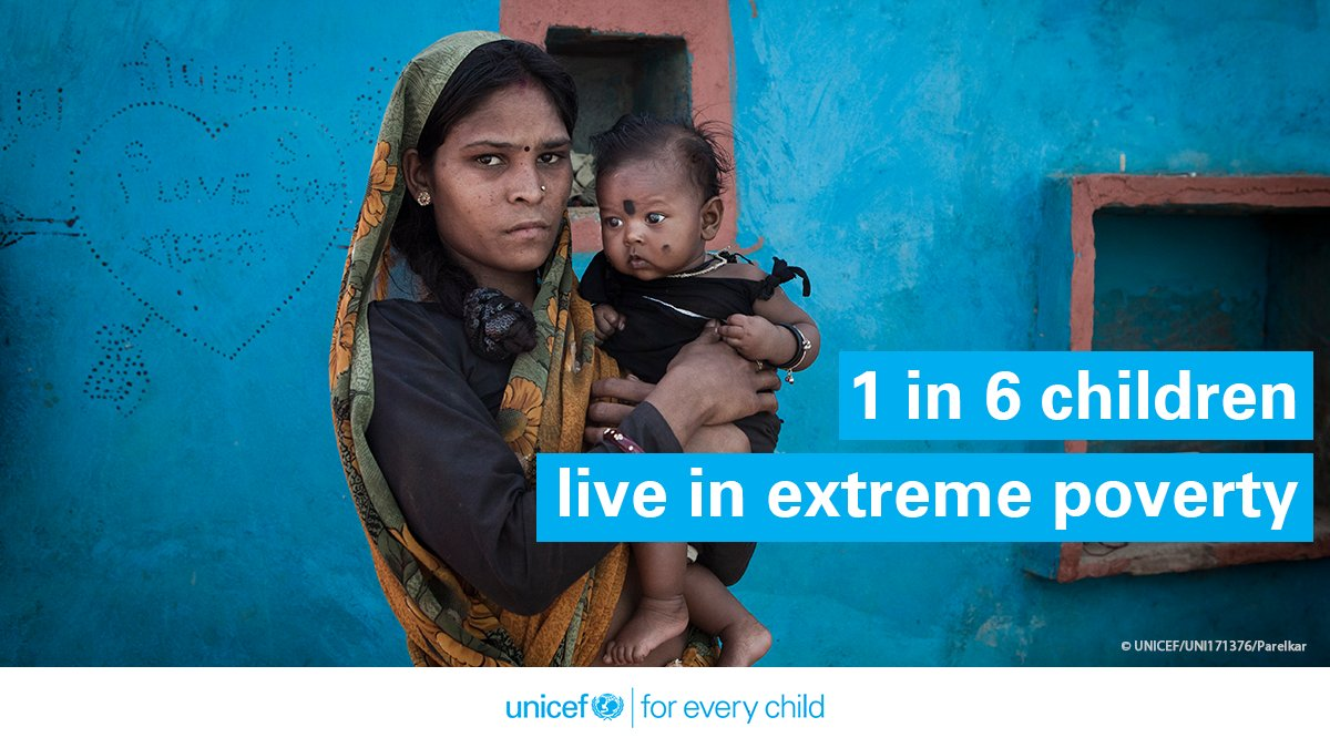 An estimated 356 million children globally live in extreme poverty. South Asia accounts for nearly a fifth of these children.   According to a new analysis, the #COVID19 pandemic will worsen this situation significantly.  Read more here: