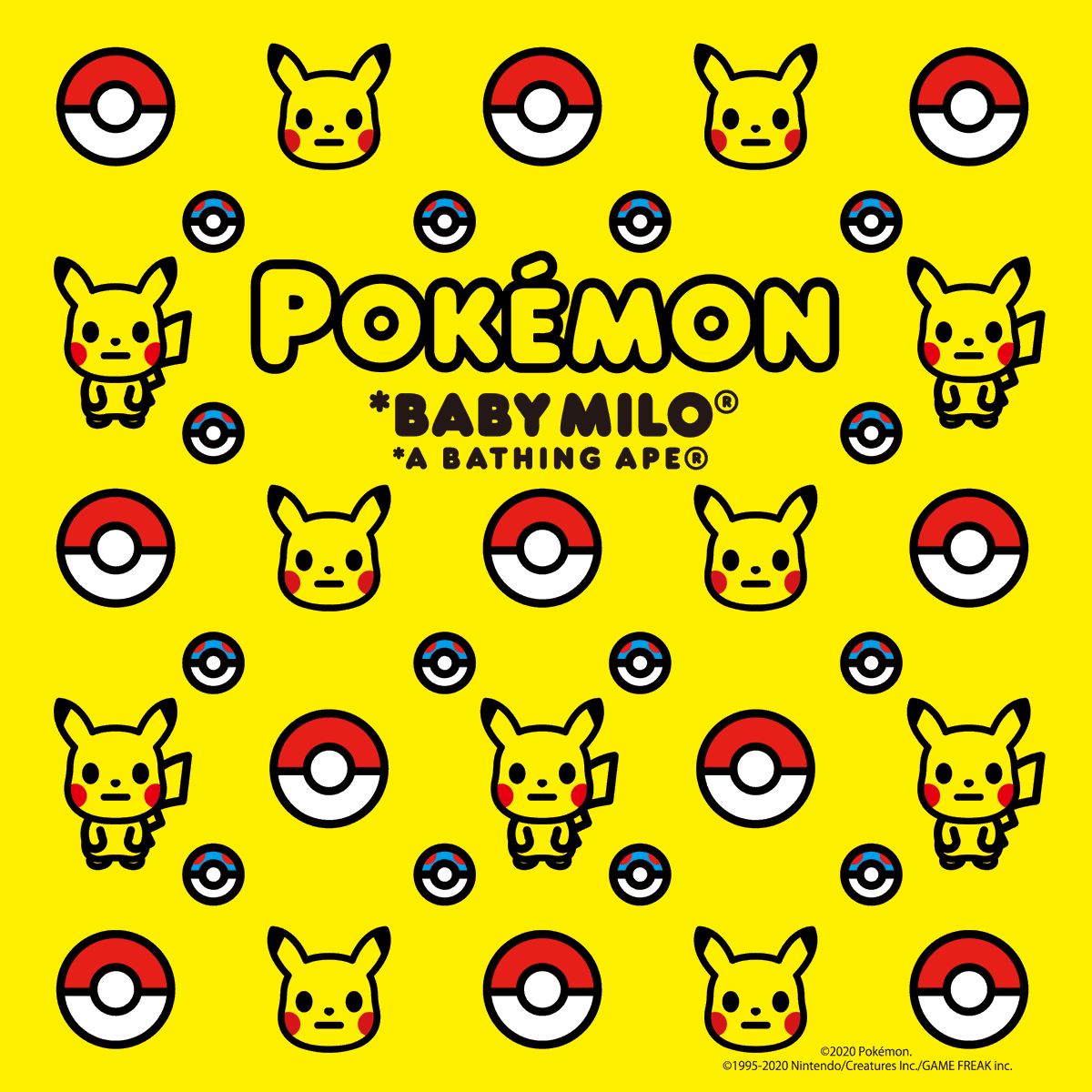 BAPE® and POKÈMONare teaming up to create a capsule collection that fans of both brands will enjoy. It will be available on Saturday, October 31st at A BATHING APE® locations  WEB STORE. #bape #abathingape #babymilo #pokemon #pikachu