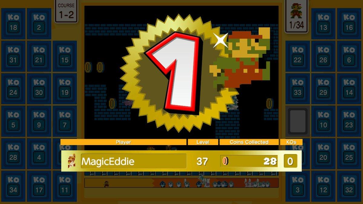 That wasn't easy. My palms are sweaty #SuperMarioBros35 #NintendoSwitchOnline #NintendoSwitch