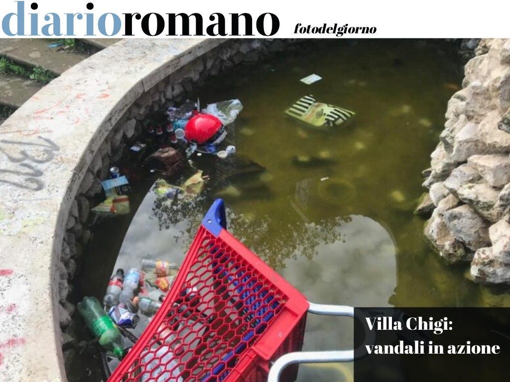 test Twitter Media - Nella fontana di tutto, perfino un carrello della spesa. Il parco tra via Piccinni e via Valnerina, è sempre più terra di nessuno.🤦🏻♂️ #Roma #fotodelgiorno 📸 https://t.co/iD825WMOAU