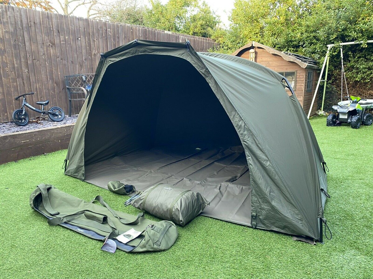 Ad - Trakker Tempest V2 Bivvy On eBay here -->> https://t.co/QfjLVAcahl  #carpfishing https://