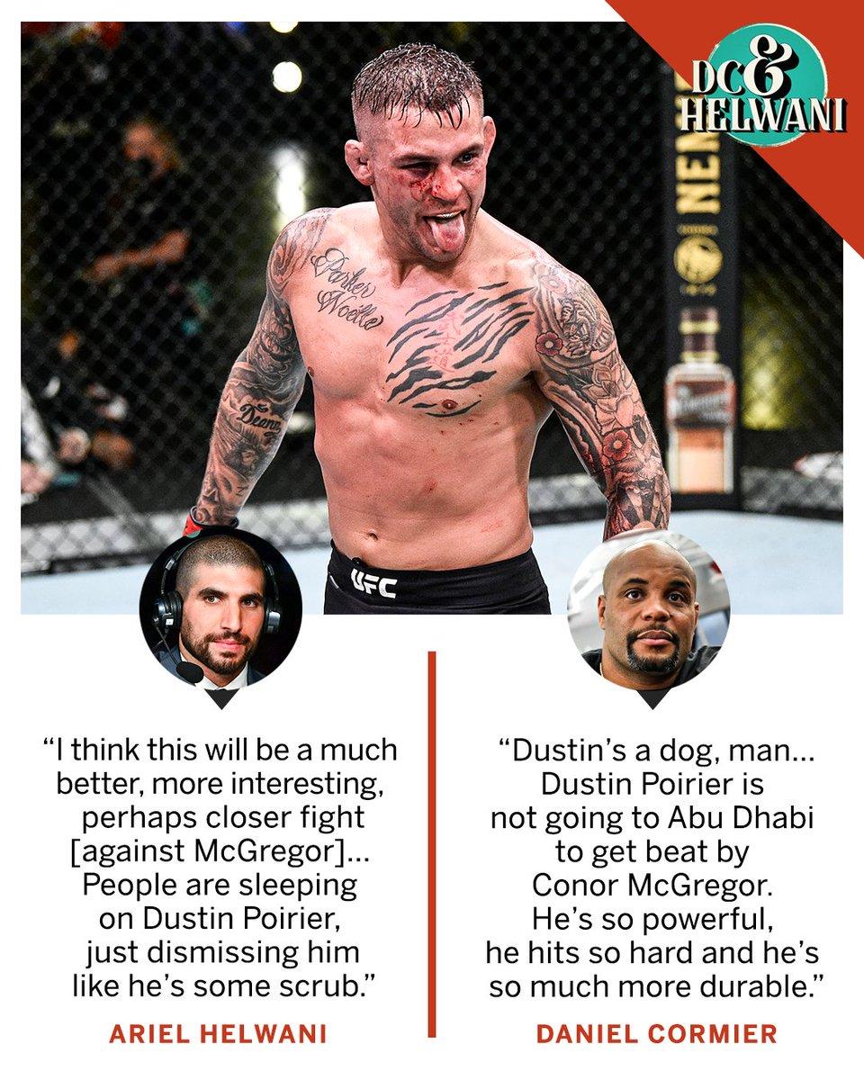 DC & Helwani aren't sleeping on The Diamond 💎 #UFC257