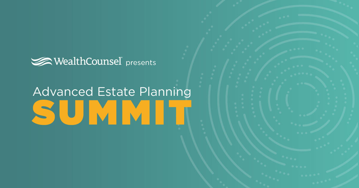 test Twitter Media - #estateplanning like you have never seen it before! Be there on January 28th at WealthCounsel's Advanced Estate Planning Summit! https://t.co/6W3iJA36xz https://t.co/xdYuq54UrF
