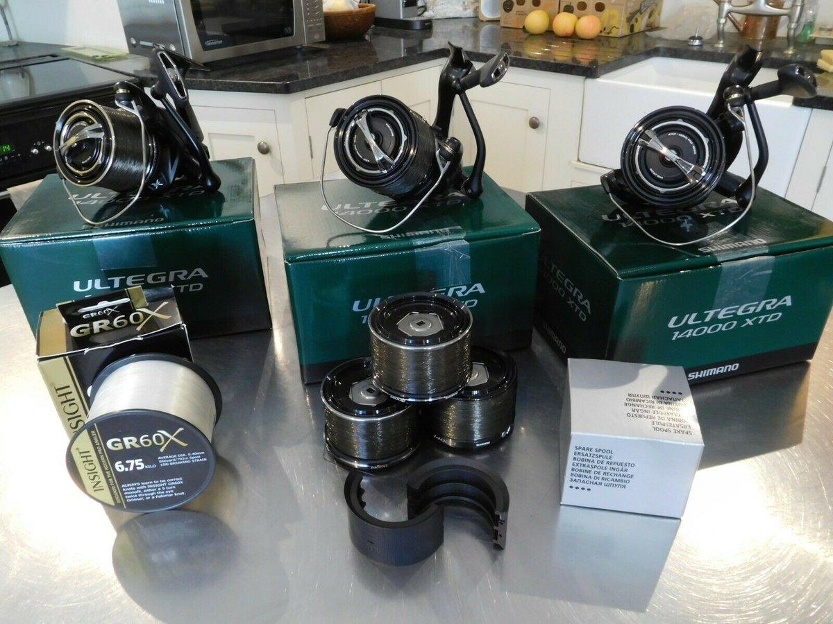 Ad - 3x Shimano Ultegra XT-D Reel ULT14000XTD On eBay here -->> https://t.co/y5ABcUWVyB  #carp