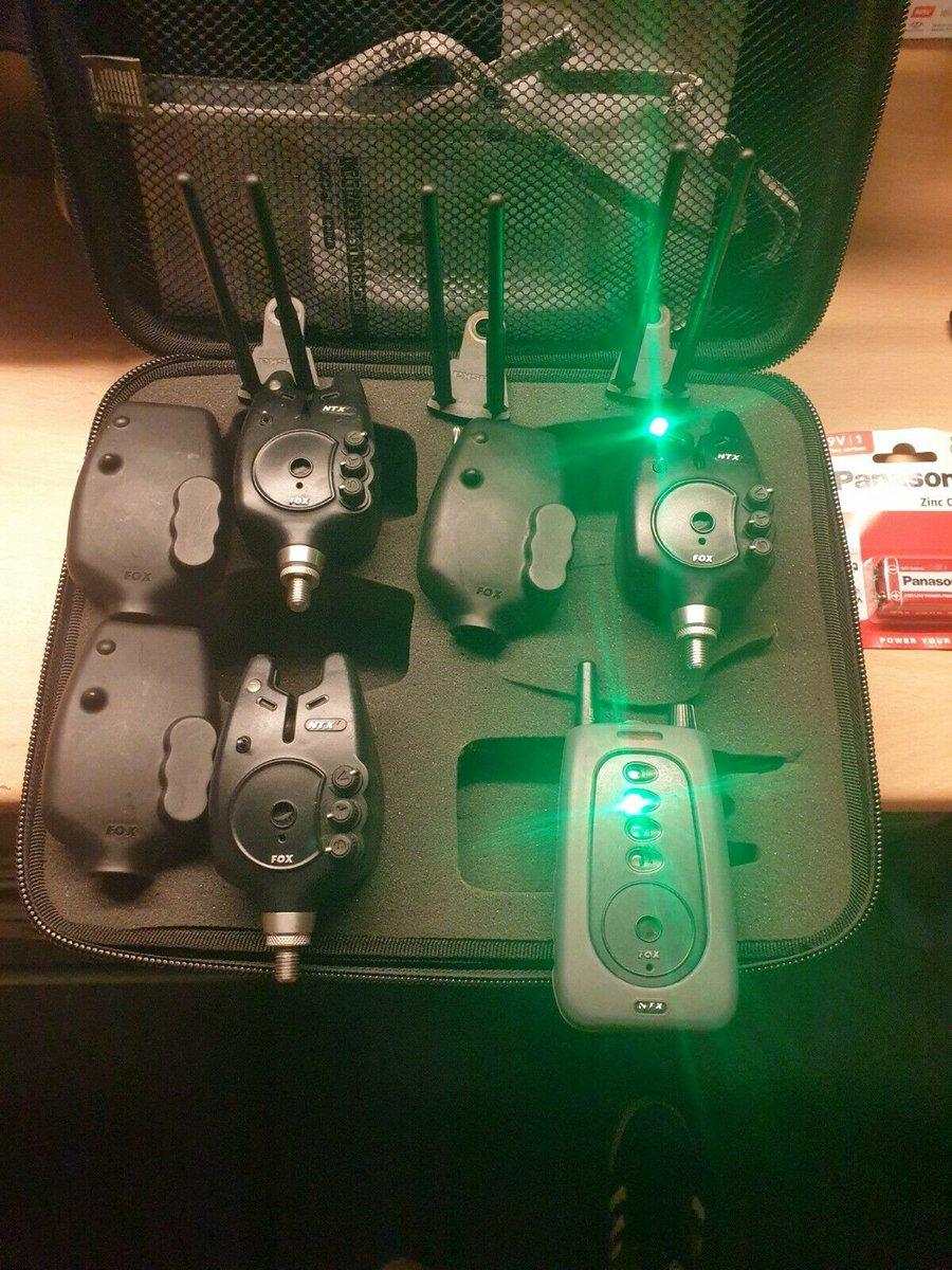 Ad - Fox NTXR Bite Alarms &<b>Amp;</b> Snag Ears On eBay here -->> https://t.co/rNy7aXlfFe  #c