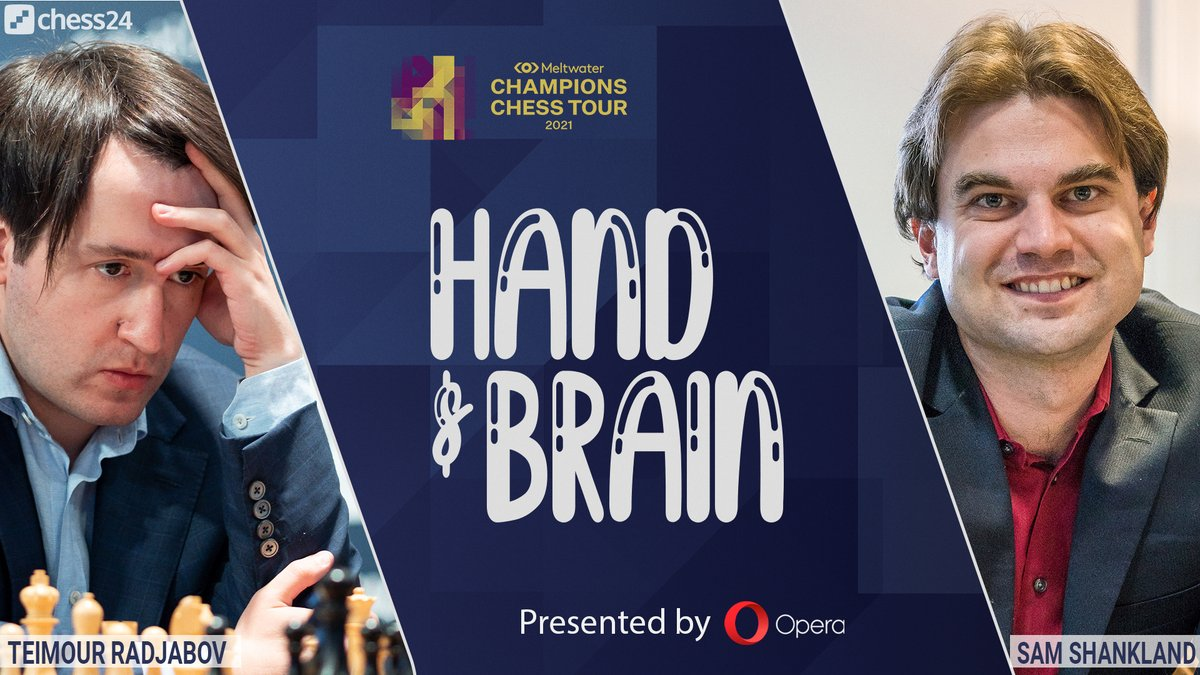 test Twitter Media - Today at 20:00, @opera presents Hand & Brain with @rajachess and @GMShanky!  Premium members can challenge the top GMs here: https://t.co/fyqDAWvJXp #c24live #opera https://t.co/DVfCknVYJL