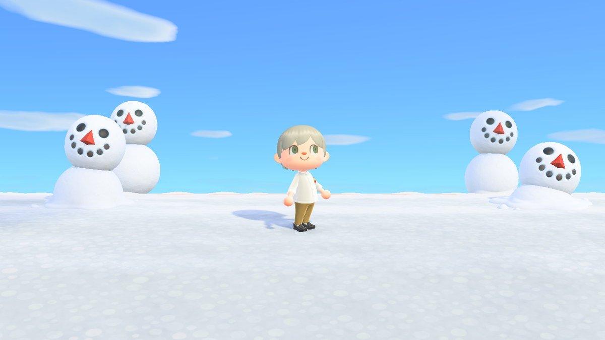 test ツイッターメディア - あつ森117日目。通信装置をみつけて、ゆきだるま作って、ドレミに宝探しに誘われたけど見つけられず。ゲームに誘われたのはじめてだった。 #どうぶつの森 #AnimalCrossing #ACNH #NintendoSwitch https://t.co/6D67NnY6iP