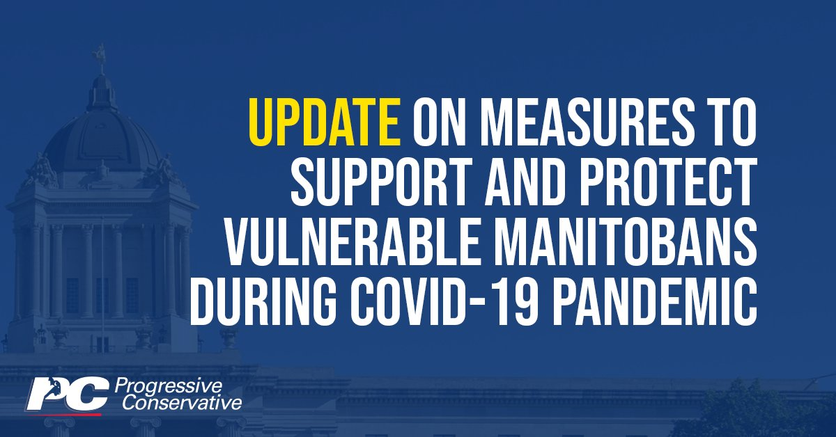 test Twitter Media - Our PC government is taking a number of steps to ensure additional supports are available to Manitobans who rely on social services during the COVID-19 pandemic.   Learn more: https://t.co/e6wn3XUjbY   #mbpoli https://t.co/H0CdjjGYZW