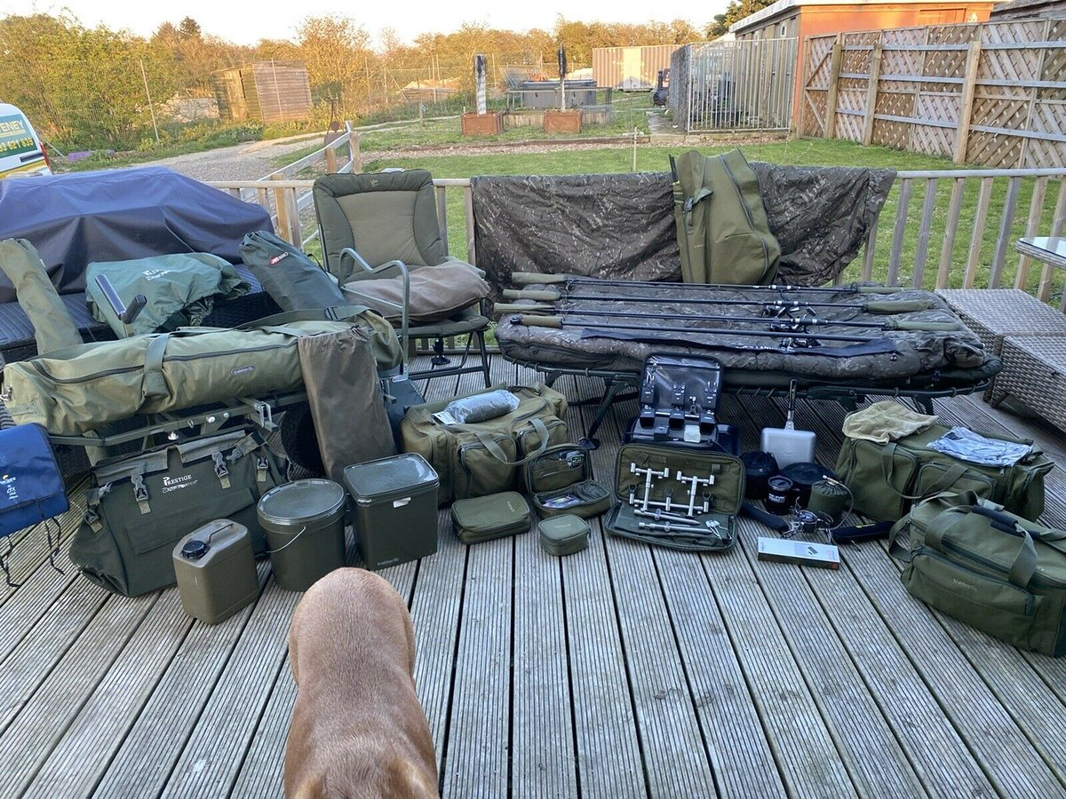 Ad - Carp fishing complete <b>Set</b> up for sale On eBay here -->> https://t.co/8YhXuXn7Y3  #