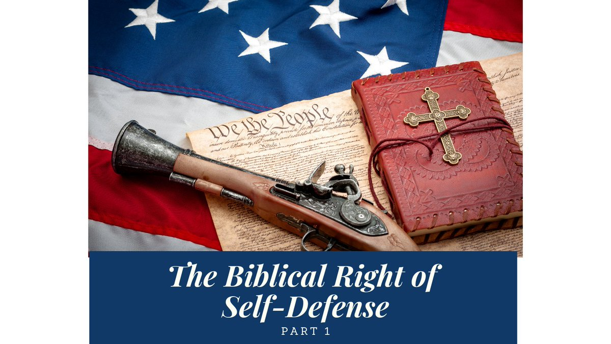 What is the right of self-defense? What should citizens be allowed to arm themselves with? Where should they be able to carry those arms?   Click to discover the biblical, historical, and constitutional perspective on self-defense!