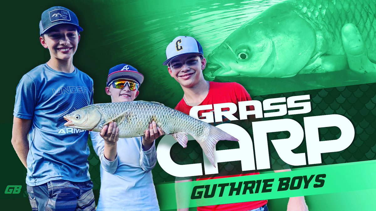 New video out on YouTube @ Guthrie Boys! #carpfishing #family #guthrieboys #pondfishing #fishing #gr
