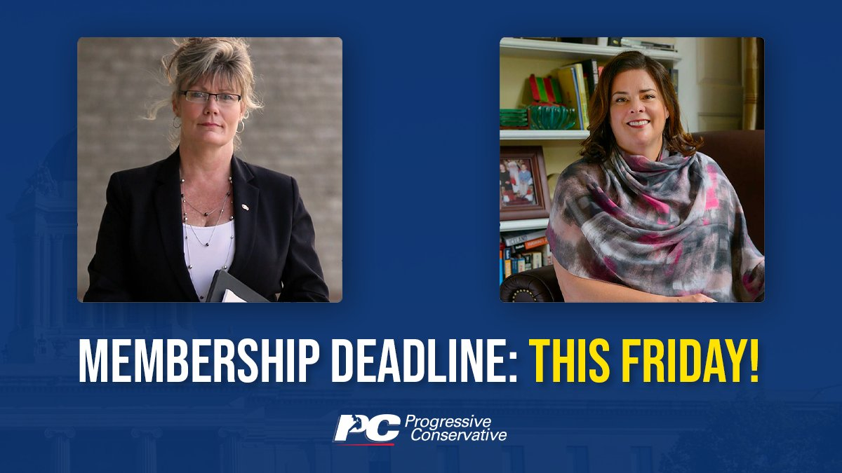 test Twitter Media - On October 30th the PC Party of Manitoba will elect a new leader: Manitoba's first female Premier! If you want to vote, you must be a party member by 5 PM on Friday.  Buy membership: https://t.co/gkzGwGiPcU  Learn more about the leadership race: https://t.co/8hzJtqGQbg   #mbpoli https://t.co/KVqD8EXNAp