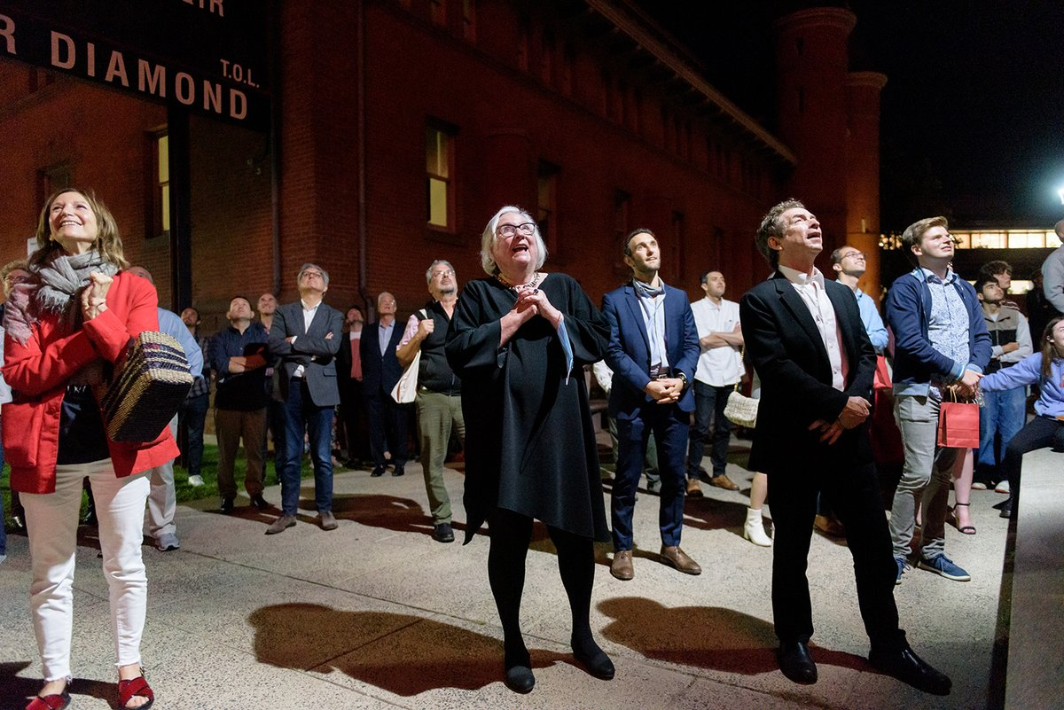 """test Twitter Media - The grand finale of Jeanine Basinger's storied career at Wesleyan took place in late September with the naming ceremony in her honor of the new Center for Film Studies.  """"No other college seemed like Wesleyan. There's always a little crackle in the air.""""  https://t.co/i4udWKWrh8 https://t.co/REkQgYTi8P"""