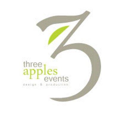 Three Apples Events | Social Profile