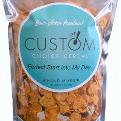 Custom Choice Cereal | Social Profile