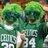 Celtics supahfan wig guys normal