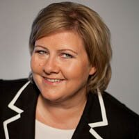 Erna Solberg | Social Profile