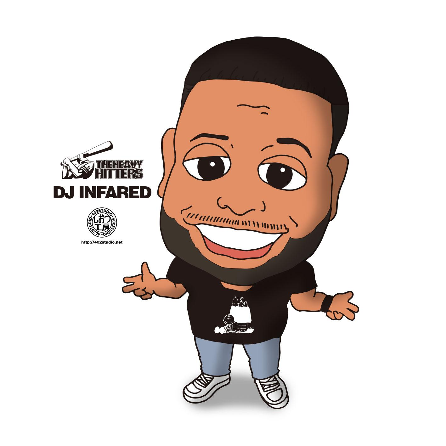 DJ_INFARED Social Profile