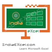 IndiaExcelBlog