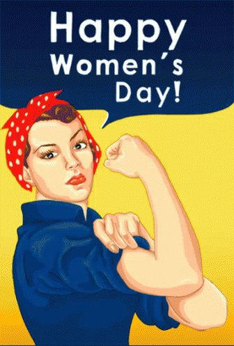 Happy #InternationalWomensDay