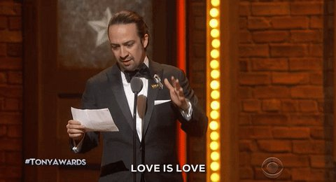 Bravo @Lin_Manuel! Perfectly put! #TonyAwards @TheTonyAwards https://t.co/m9ZMeK3J0Q