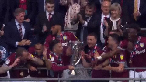 RT @AVFCOfficial: A month ago today. 😍  #PL #AVFC https://t.co/XQ254OjEUO