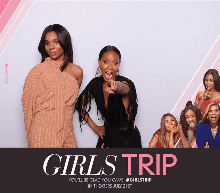 Me and my girl @MoreReginaHall Girls Tripp'n in Atlanta!!! #girlstrip https://t.co/VsUPz2oSL2