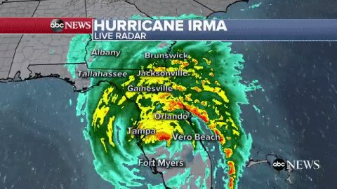 NEW: At least 5 deaths now associated with Hurricane Irma in Florida, officials say.