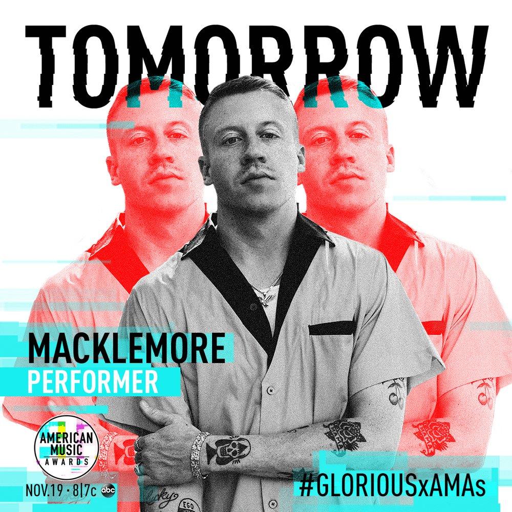 Tomorrow... @AMAs w/ @SkylarGrey #GLORIOUSxAMAs https://t.co/DSmbMly9Kh