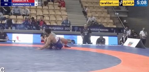 A wrestler from Iran threw his match to avoid facing an Israeli in the next round