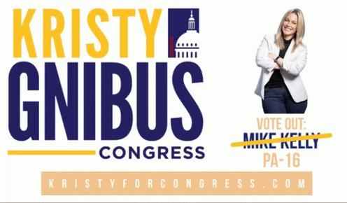 #PA16 needs Democrat Kristy Gnibus for Congress.   ✅affordable healthcare  ✅a great education for every student ✅creating good paying jobs ✅get big money out of DC @kristy4congress                                 #wtpTEAM                            #wtp2020  @wtp_2020